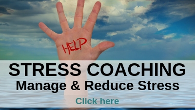 Stress coaching - stress management coaching to manage and reduce stress
