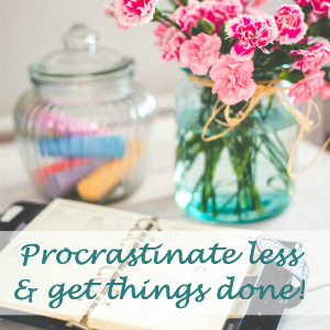 Manage stress and procrastinate less