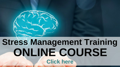 Online stress management training course