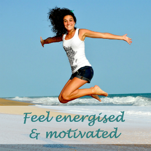 Reduce stress, feel energised and motivated